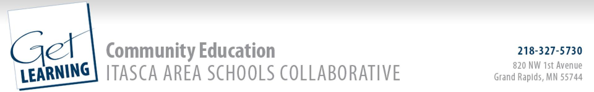 Class Registration v3.0 - Itasca Area Schools Collaborative Community Education